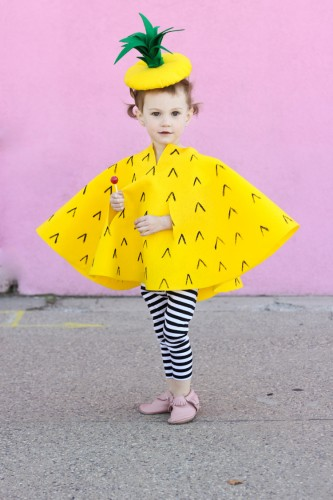 No-Sew-Pineapple-Halloween-Costume